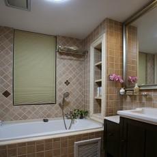 家居卫生间装修瓷砖效果图