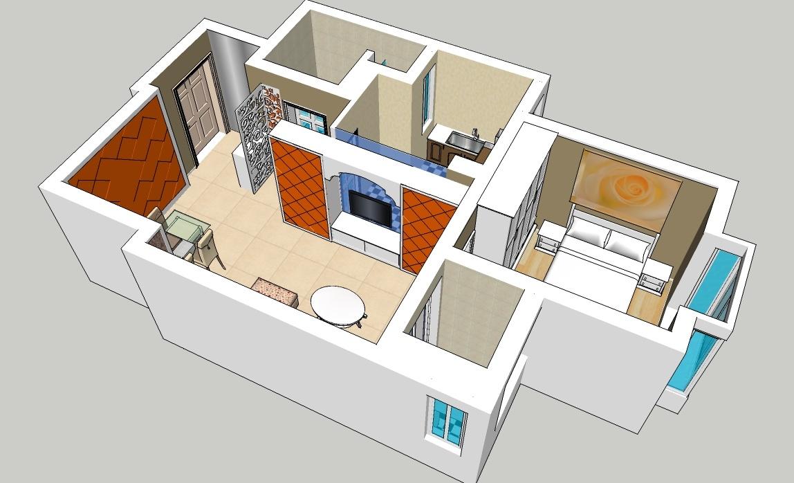 精选房屋设计模型欣赏