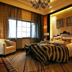 现代欧式装修风格卧室效果图