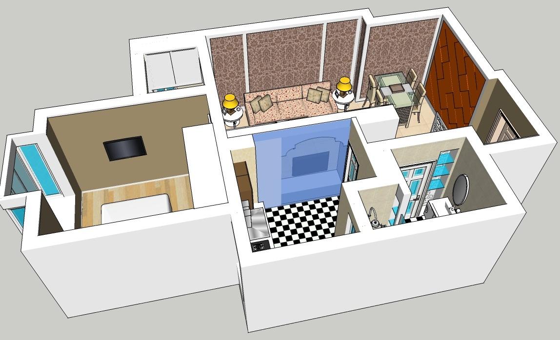 精选房屋设计模型2013