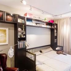 2018精选面积87平小户型卧室现代装修设计效果图片