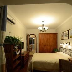 美式简约卧室装修效果图片