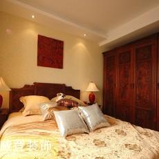中式风格装修卧室效果图大全2013图片