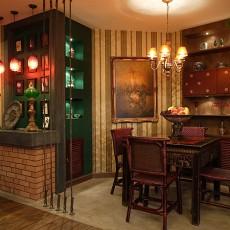 东南亚风格小餐厅装修效果图