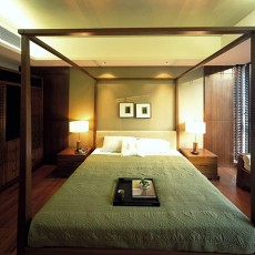 简中式卧室装修效果图2013