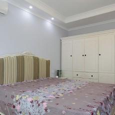201870平米田园小户型卧室装修图片