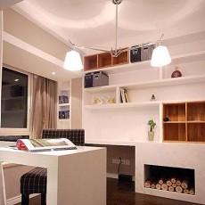 热门面积72平小户型书房现代装修实景图片大全