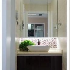 小平米洗手间装修效果图大全2013图片