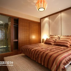 精美二居卧室东南亚欣赏图