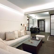 2018精选大小105平现代三居客厅装修效果图