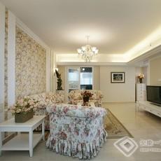 精选88平米二居客厅欧式装修实景图