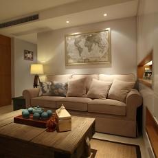 精选88平米简约小户型客厅欣赏图