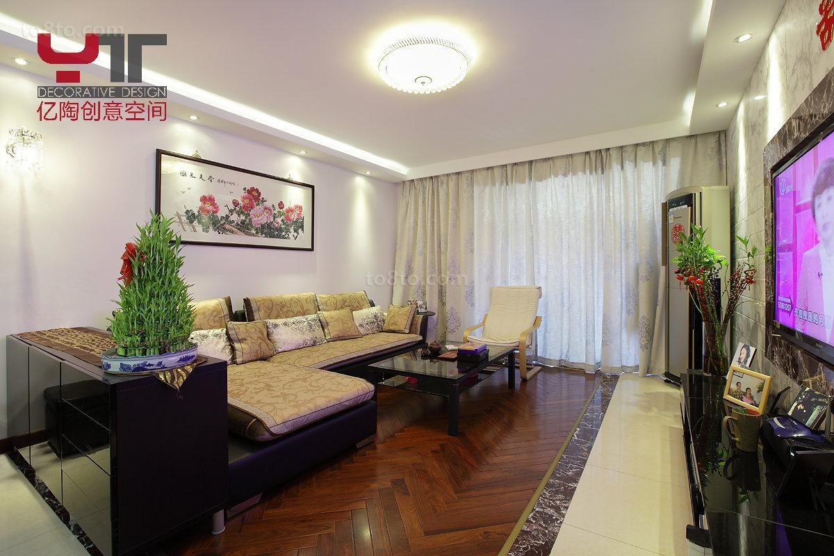 热门中式小户型客厅欣赏图片大全
