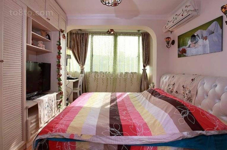 热门田园小户型卧室装修实景图片大全