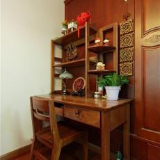 中式书房书桌效果图大全