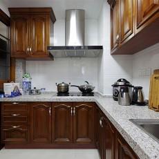 中式厨房装修效果图2013