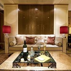 热门73平米二居休闲区现代装修效果图片