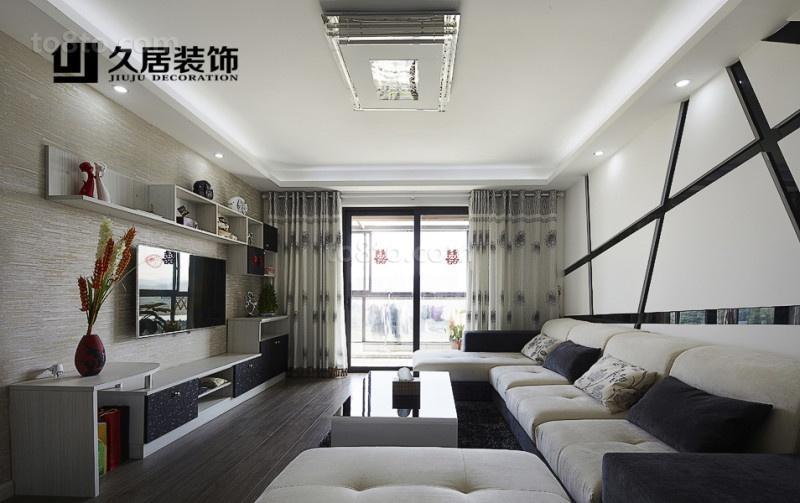 简约现代客厅装修效果图大全2013图片