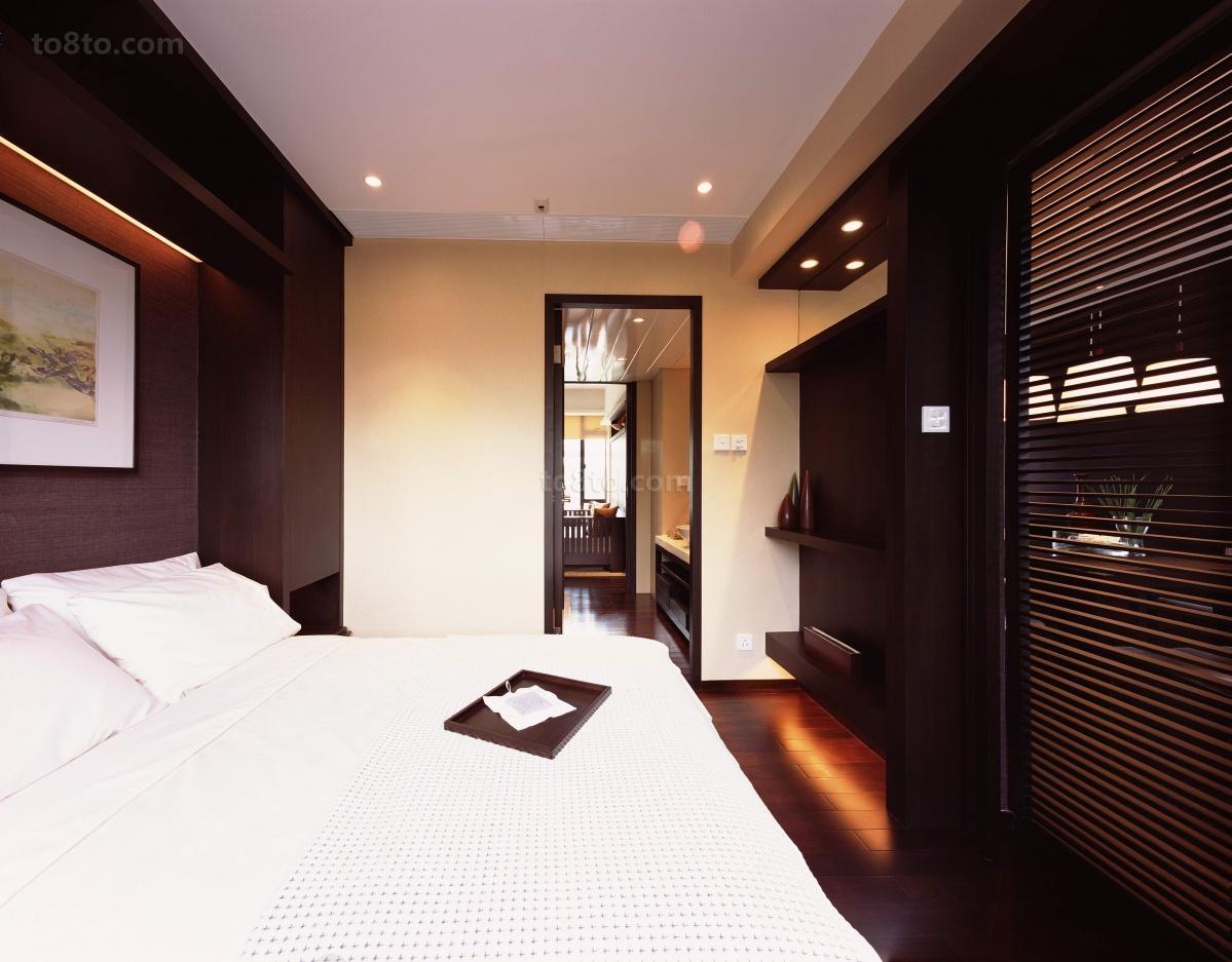 现代风中式风格卧室装修效果图