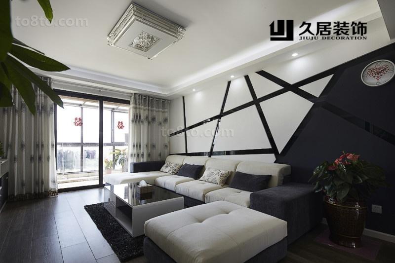 现代家装客厅吊顶灯效果图