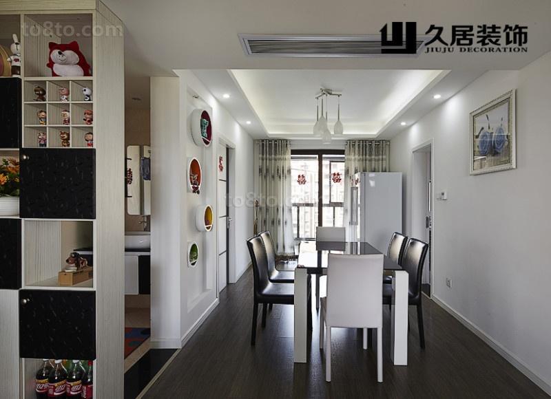 现代家装餐厅装修效果图片