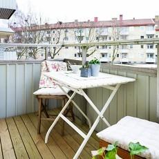 小阳台装修效果图欣赏