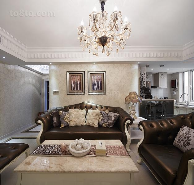 2018欧式一居客厅装饰图片