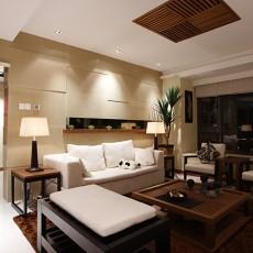 简中式客厅装修效果图欣赏