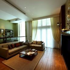 现代中式风格客厅装修效果图大全