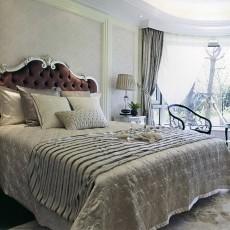 精美面积79平欧式二居卧室装修效果图片大全