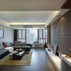 2018一居客厅现代装修效果图片