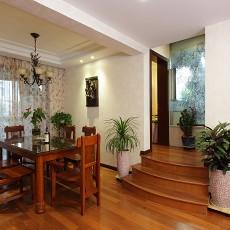 中式风格家庭装修餐厅效果图