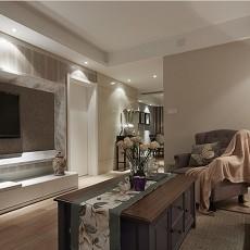 美式二居休闲区装修设计效果图