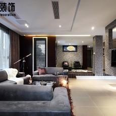 热门77平米二居客厅现代装饰图片