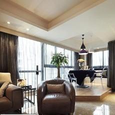 热门现代二居休闲区效果图