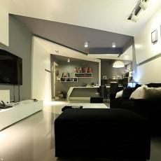 热门小户型客厅现代装修欣赏图