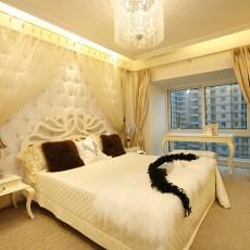 热门86平米欧式小户型卧室装修图片大全