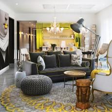 2018精选面积88平现代二居客厅装饰图片大全