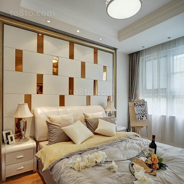 热门面积96平田园三居卧室装饰图片大全