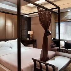 简中式卧室装修效果图大全2013图片