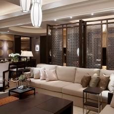 中式客厅装修效果图大全图片欣赏