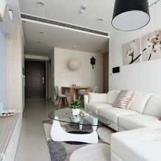简约50平米小户型客厅装修效果图片