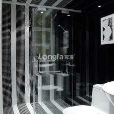 热门93平米三居卫生间简约装修效果图片大全