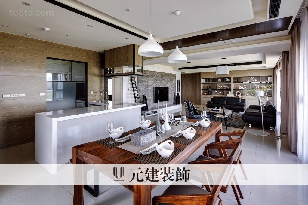 现代四居餐厅装修效果图欣赏