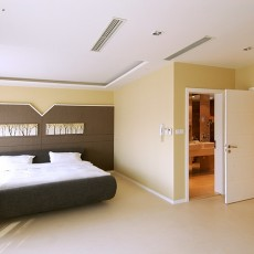 热门面积134平别墅卧室现代装修设计效果图片