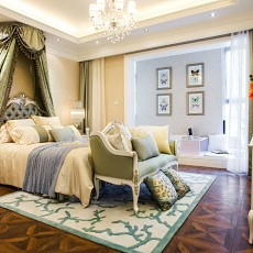 精美72平米二居卧室欧式效果图片欣赏