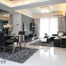 热门99平米三居休闲区现代欣赏图