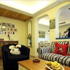 地中海小客厅装修设计效果图